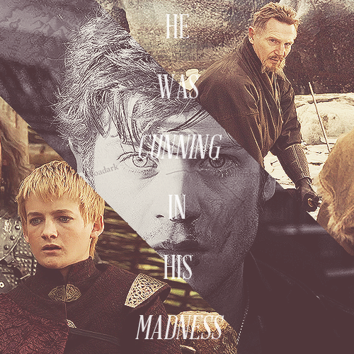 Jack Gleeson, Iwan Rheon, and Liam Neeson as Galbatorix Inheritance Cycle